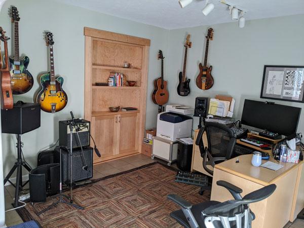 My office/recording studio